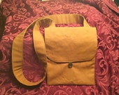 Tobacco Canvas Haversack