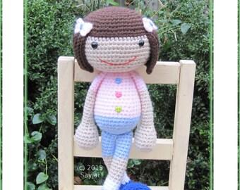 ENGLISH Instructions - Instant Download PDF Crochet Pattern - Huggy Denise