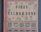 Antique 1880 Frist German Book