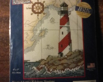 Nautical Light Cross Stitch Kit