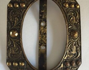 Vintage Brass Buckle Piece
