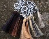 Custom Horsehair Tassel From Your Horse's Hair