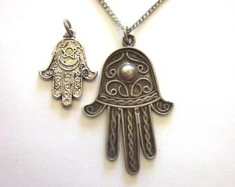Tibetan Hand Charms Hamsa Jewelry Supply