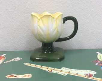 Enesco Japan Tulip Cup Figurine