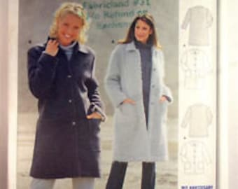 Burda Start 3 sewing pattern 2568 Loose Coat. Uncut pattern