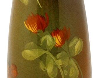 Owens Pottery Utopian Clover Vase Shape 013