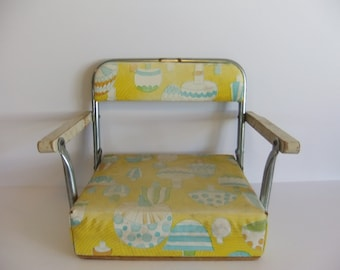 Vintage Booster Seat - Restuarant Childs Seat - Childresn Chair