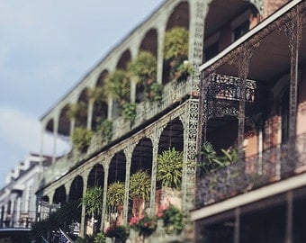 Royal Street Balconies, New Orleans Photography, french quarter architecture, Louisiana home decor, NOLA wall art