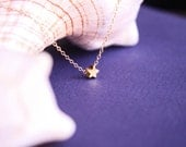Tiny Star Necklace, Minimalist Delicate neckalce, Simple Necklace, Dainty naecklace, Every day Jewelry