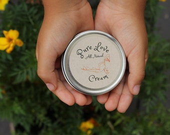 Pure Love All Natural Cream- Organic Body lotion