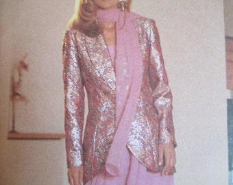 Sew News Uncut Jacket, Camisole, Skirt, Pants, Scarf Pattern, Sizes 8, 10, 12