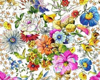 Paintbrush Studio - Fantasia - Master Floral - Multi - Fabric by the Yard 120-11401