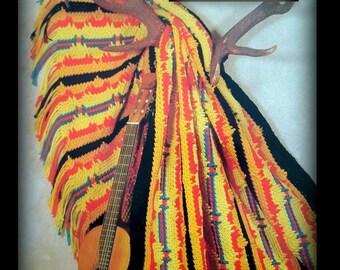 Afghan Pattern - Crochet Southwest Design - Instant Download PDF 05021051