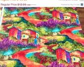 Gorgeous Sunset Villa Fabric--HARD FIND--LAST Piece