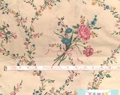Vintage Cream Floral Bouquet Pillowcase
