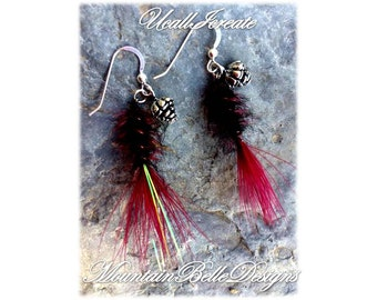 Tied Fly Earrings(Angler Edition)/Handmade by Me/Gifts for Her