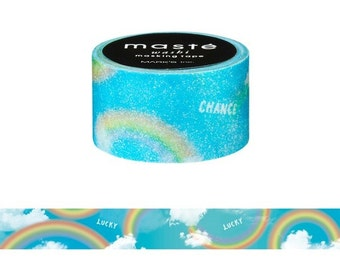 Rainbow Japanese Washi Tape • Masté Masking Tape Nature (MST-MKT49-A)