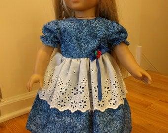 Pretty Spring Doll Dress, American Girl, other 18 inch doll