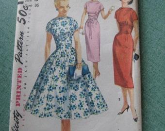 Uncut 50's Simplicity Dress Pattern