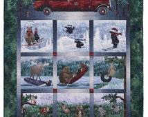 Road Trip McKenna Ryan Pine Needles Animal Woods 10 Quilt Pattern Set