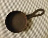 Primitive Cast Iron Tiny Pan