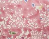 SALE - Liberty tana lawn printed in Japan - Yoshie - Mauve pink