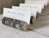 Set of 10 Rustic Wedding Place Card Holders Woodland Variety Escort Card Holder