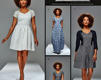 Misses' Project Runway Dress Pattern, Simplicity Sewing Pattern 8015