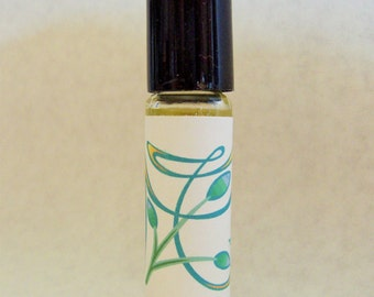 Fig roll-on perfume oil, roll on fragrance, scented oils, 1/3 oz, 10ml glass bottle, by Deer Run Soap Works