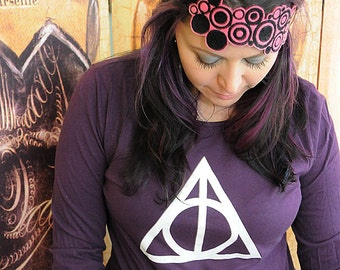 Wizard Symbol. Women's American Apparel long sleeve in medium or extra large.