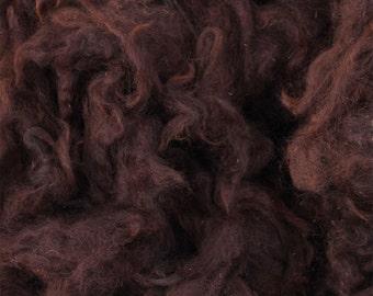 Mahogany Brown Alpaca Fleece