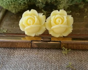 Bridal Plugs, Flower Plugs, Yellow Roses
