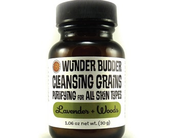 Purifying Cleansing Grains with Lavender + Woods