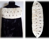 Genuine Vintage ERMINE FUR Capelet - Royal Fur Cape for Flapper or Medieval Royalty Costume