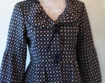 Vintage Tweed Coat Petite/S
