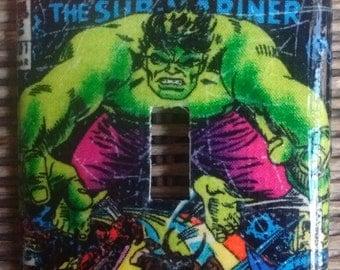 Hulk Single Toggle Light Switch Plate Cover