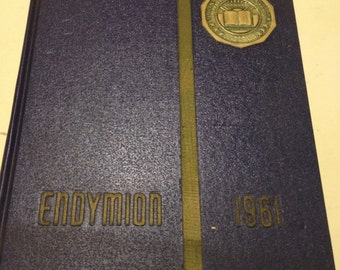 1961 Thiel College Yearbook Endymion Greenville, PA Vintage College Annual