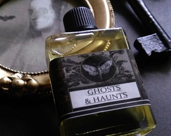 Ghosts & Hautings  1/2 oz.Natural Perfume Bottle Cedarwood, Apple, Chamomile,Honey,Juniper,Frankincense, Spikendard, Sandalwood