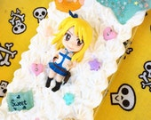 Kawaii Lucy FairyTail Decoden iPhone 5c Case Ready To Ship