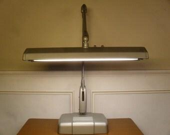 Vintage 1950's/1960's  Dazor Floating Arm Fixture Lamp  Model 2324