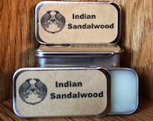 Indian Sandalwood Solid Perfume Balm