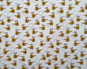 Bumblee Bees Chocolate Transfer Sheet