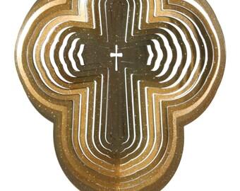 Cross COMBO Swirly Metal Wind Spinner