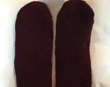 Thick felted shoe insole inserts For woman ir girl youth using Upcycled wool Sweater Best Insole for out doors happy feet