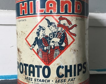 Vintage Tin Or Can
