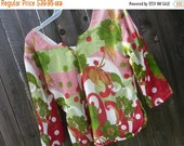 VALENTINES SALE Christmas Women's Handmade Elegant Lined Sari Silk Blouse Shirt - 3/4 Sleeves Summer - Matching Mother Daughter - Maria H815