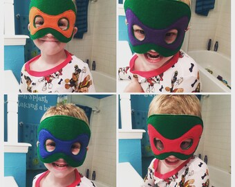 Teenage Mutant Ninja Turtle Masks
