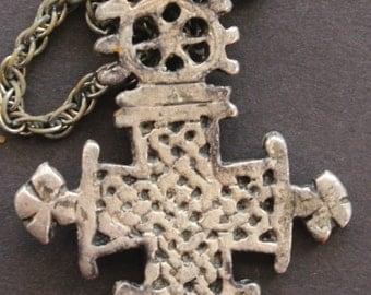 Ethiopian Cross Pendant