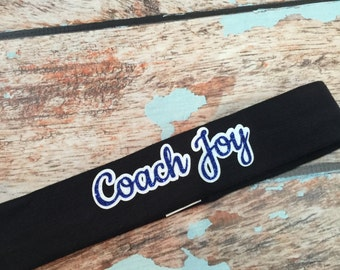Personalized in Glitter Headband You Pick Your Colors