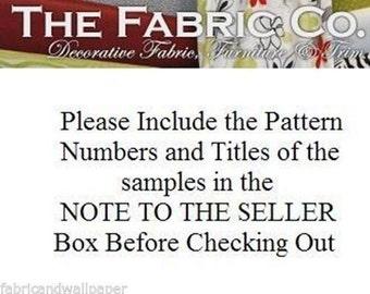 Fabric, Trim, Wallpaper, Borders Sample